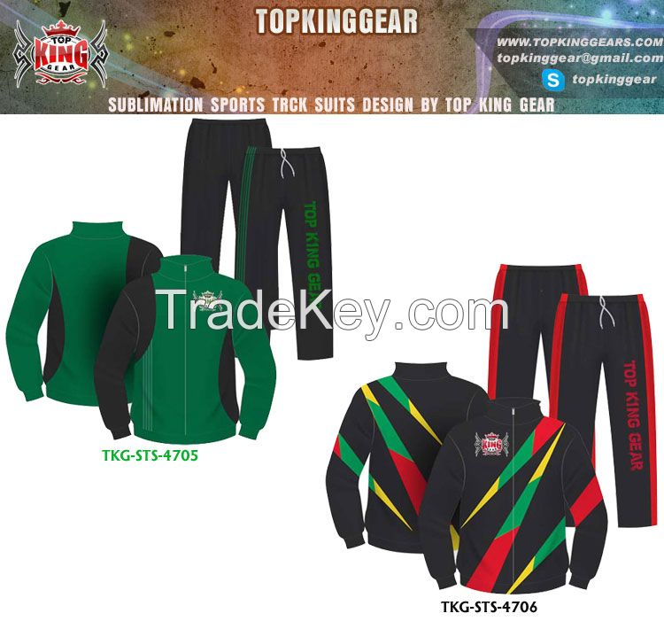 Sell Custom Sublimated Design Sports Track Suit
