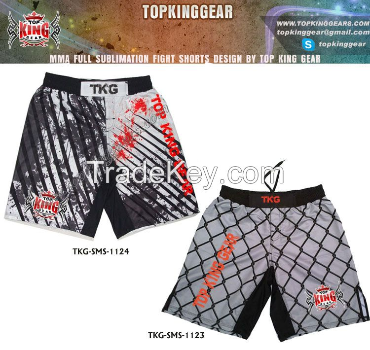 Sell Artwork Design Sublimated MMA Fight Short