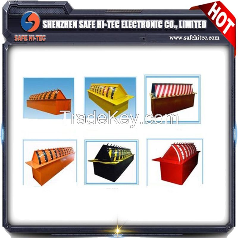 Hydraulic Security Road Blocker , Hydraulic Road Bollard for Hotel Entrance Control