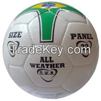 Soccer ball / football for school trainer / players size 5 hand stitched 32 panel