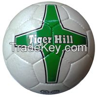 Match ball Korean Artificial Leather Football / Soccer ball size 5 panel 32 hand stitched
