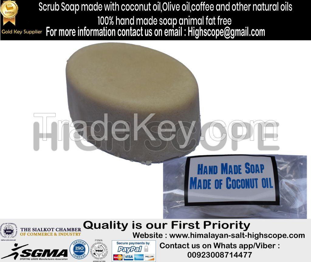 HandMade Soap Made of Coconut, Olive, castor and caola oils