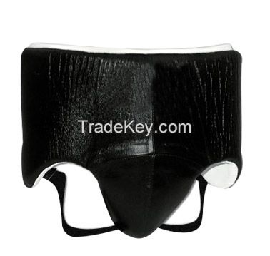 Groin Guard made cowhide leather MMA Boxing Abdo guard Adult Abdominal Protection