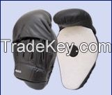 Boxing MMA Muay Thai Cruved Mitt target focus made cowhide