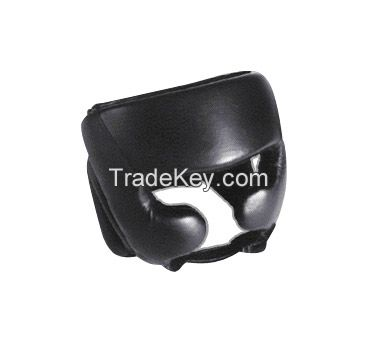 Boxing , Muay Thai MMA Sparring Head Protection /Head Guard with cheeks protection