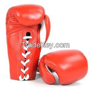 Boxing Training PU Artificial Leather Injection Molded , Lace closing size 10, 12, 14, 16 , 18 oz