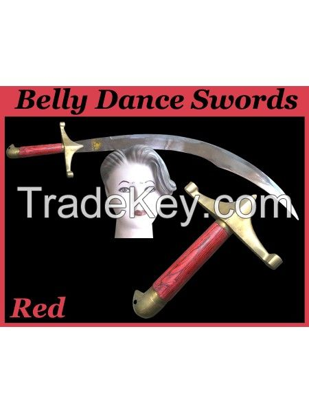 Belly Dance Swords perfectly balanced made stainless steel