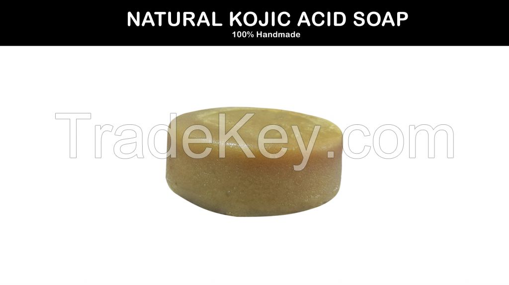 Kojic Acid Soap Made of Coconut, Olive, castor and caola oils for lightening of skin