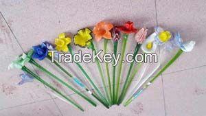 Sell handmade glass flower