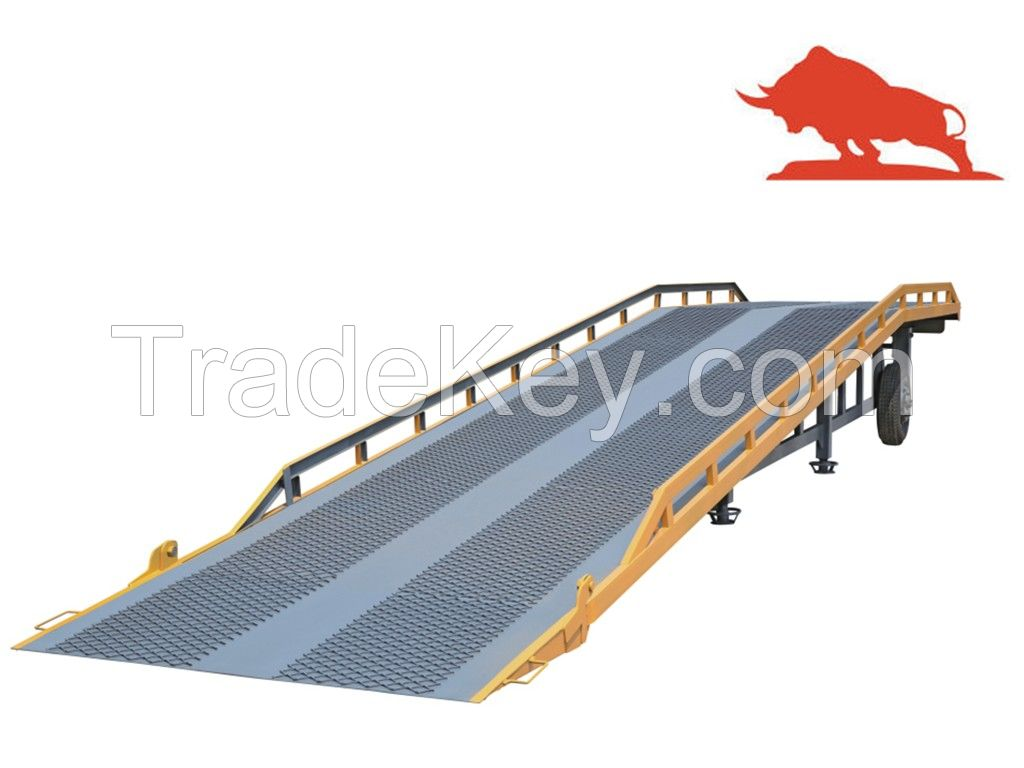 Sell DCQY Movable hydraulic dock ramp