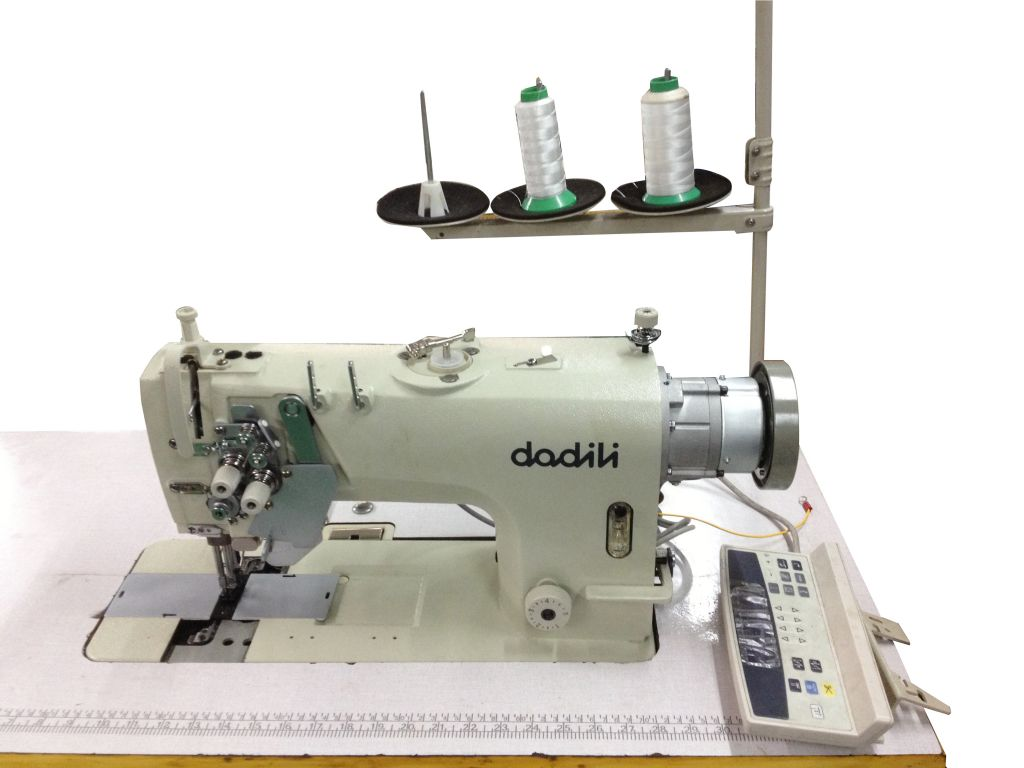 Sell Double needles direct drive automatic thread sewing machine DL8752H