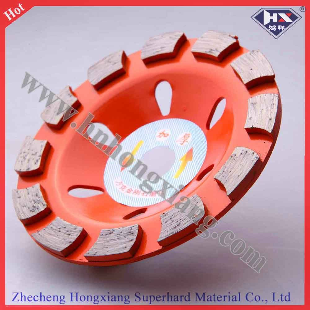 Turbo Diamond Cup Grinding Wheel for Concrete 80mm 100mm