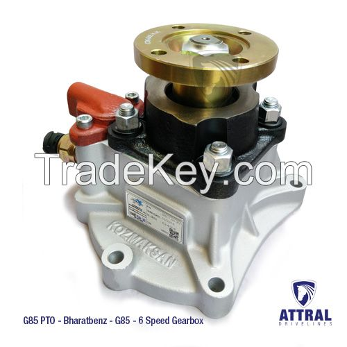 G85 PTO for Bharatbenz 2523, 1214, 1217