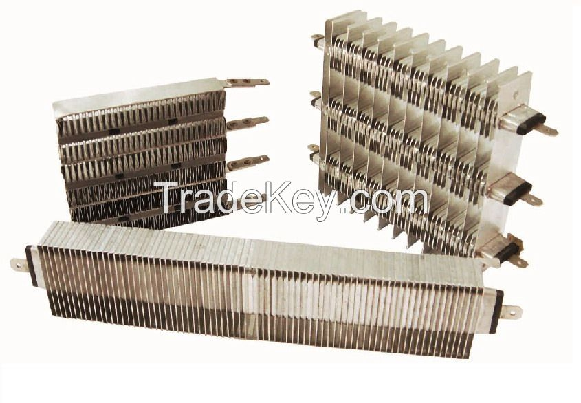 Thermal Heating Element PTC with Aluminum Wing