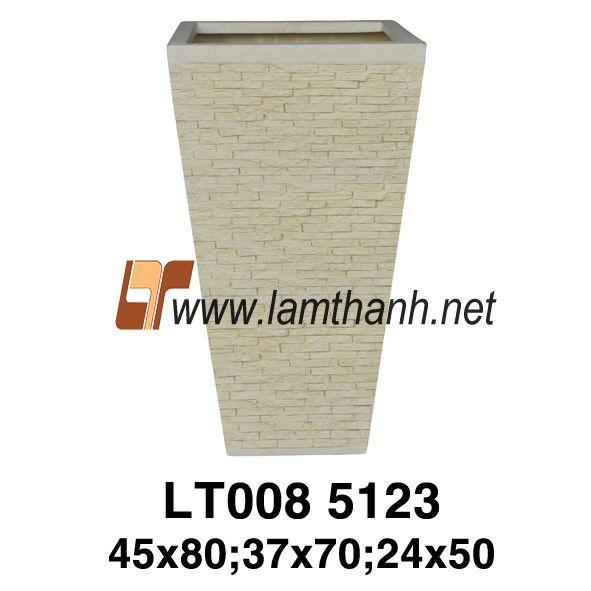 Tall Lightweight Tile Poly Planter