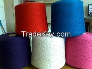 Hot sale 100% polyester dyed yarn manufacturer