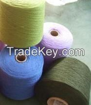 China wholesale color polyester blended yarn