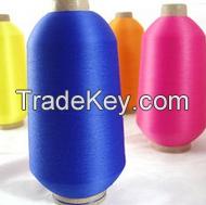 acrylic fibers color yarn