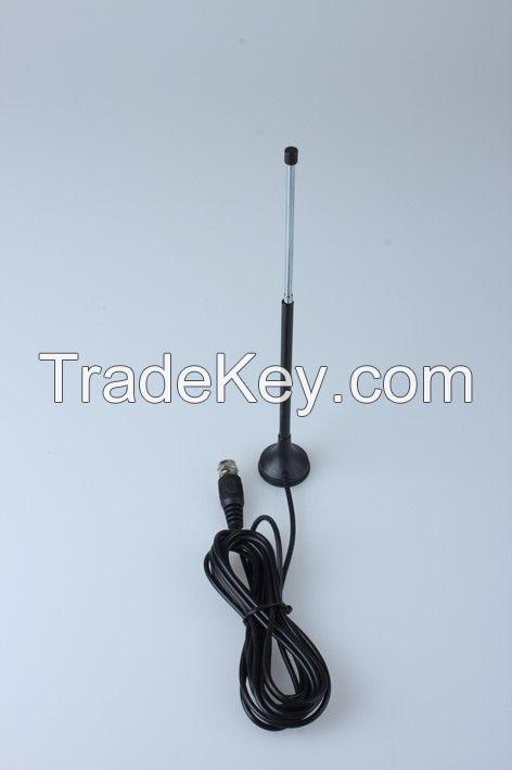 DVB-T, ISDB-T, DVB-T2 telescopic magnetic antenna, indoor tv antenna