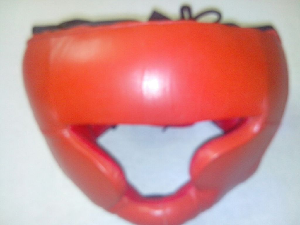 Boxing Head guard Leather all sizes