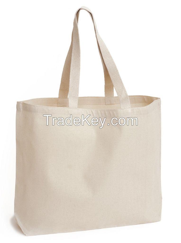 Light Weight 220 gsm Cotton Fabric Cheap Shopping Bag