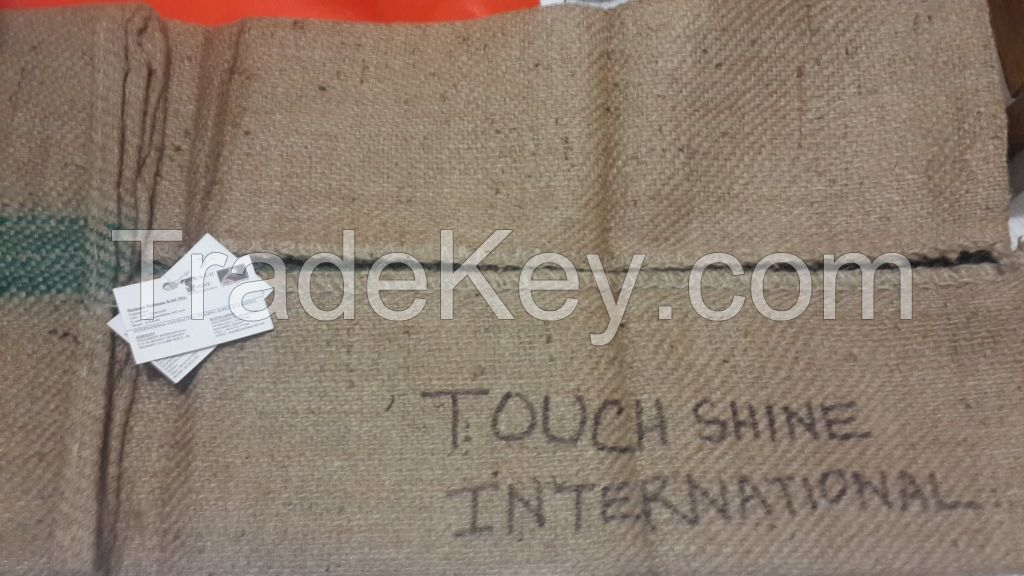 Sell offer 100kg capacity rice Jute bags for sale