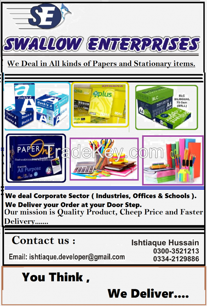 Papers and Stationary Suppliers