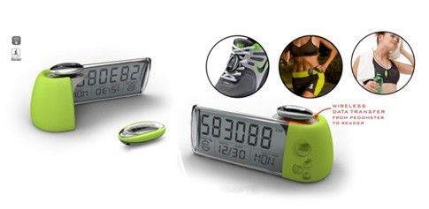 ES-708 Multi function pocket pedometer with the calendar clock