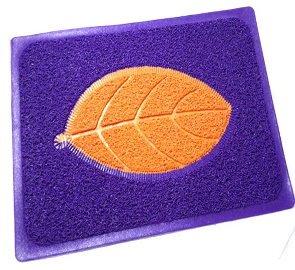 100% pvc non slip waterproof bath mat