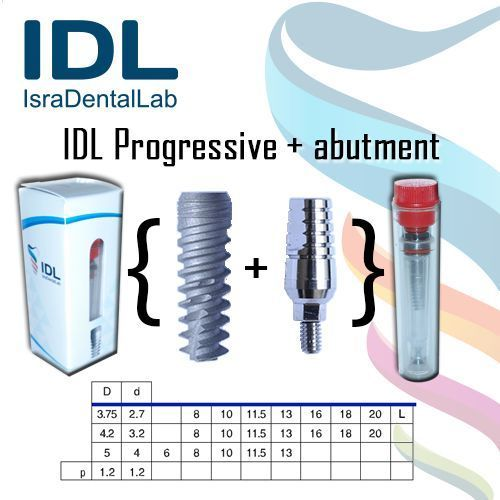 Dental implants from Israel Straight from the manufacturer!