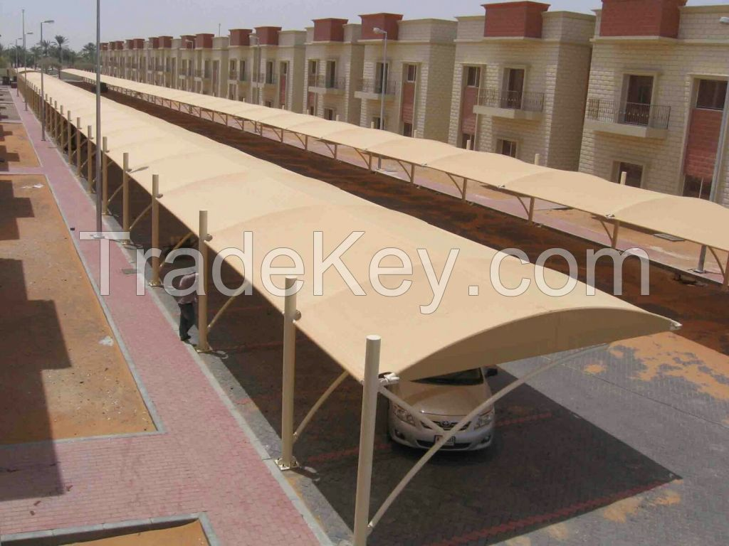 CAR PARKING SHADES new design supplier/exporters in uae +