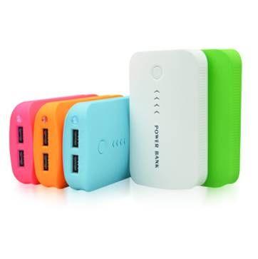 8500mah Power bank with dual USB