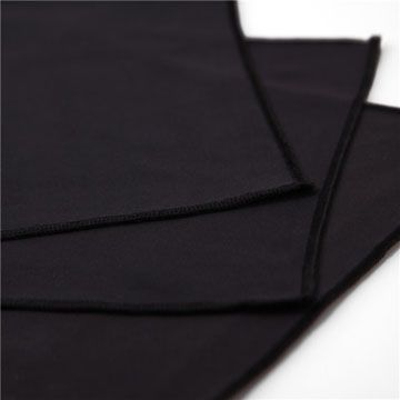 Black Microfiber Eyeglass Cleaning Cloth