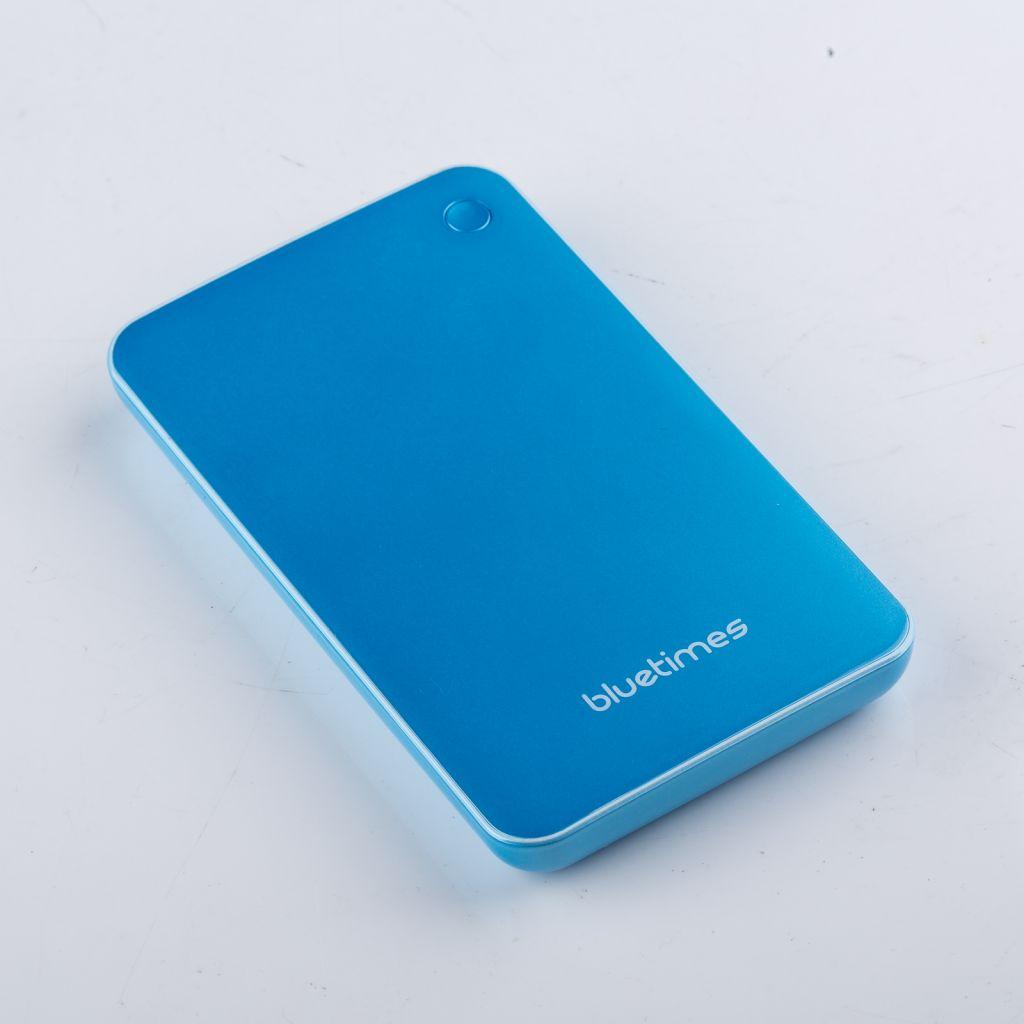Bluetimes large capacity power bank 10000mah capacity for smart phones