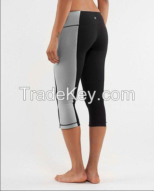 women yoga mid leg Lycra pant