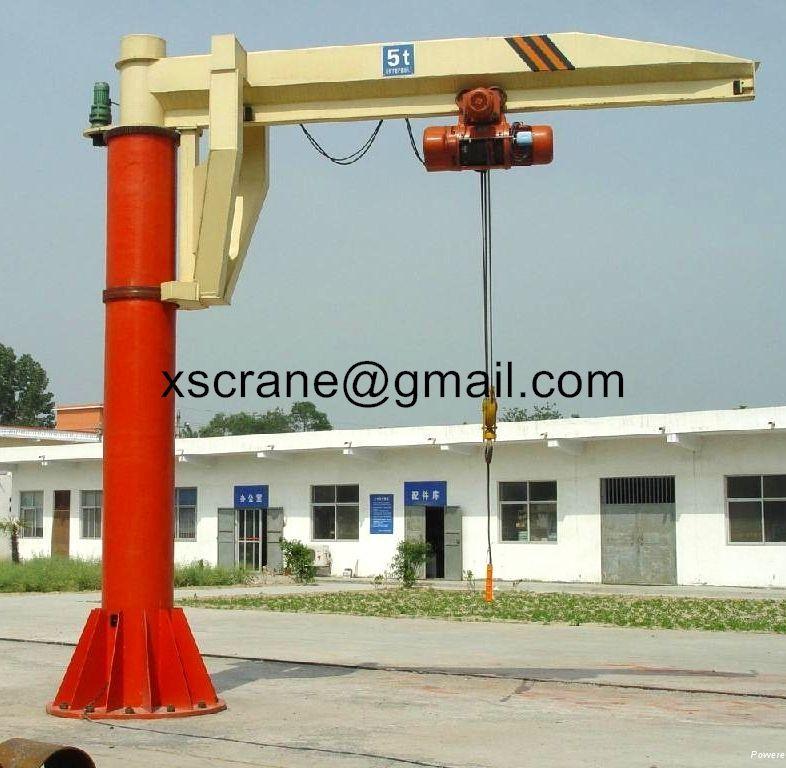 slewing jib crane used widely range