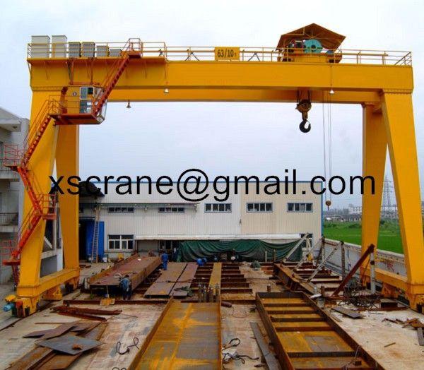 China made gantry crane 50 ton