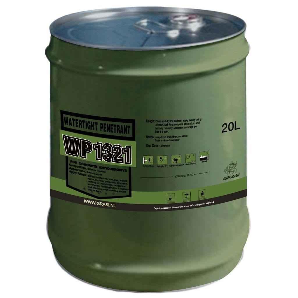 WP1322 silicone waterproof penetrants for Concrete