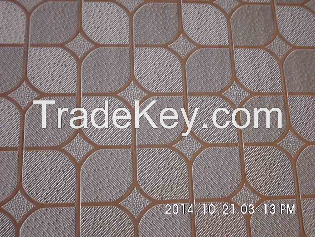 Chinese suspended ceiling tile pvc gypsum ceiling tile
