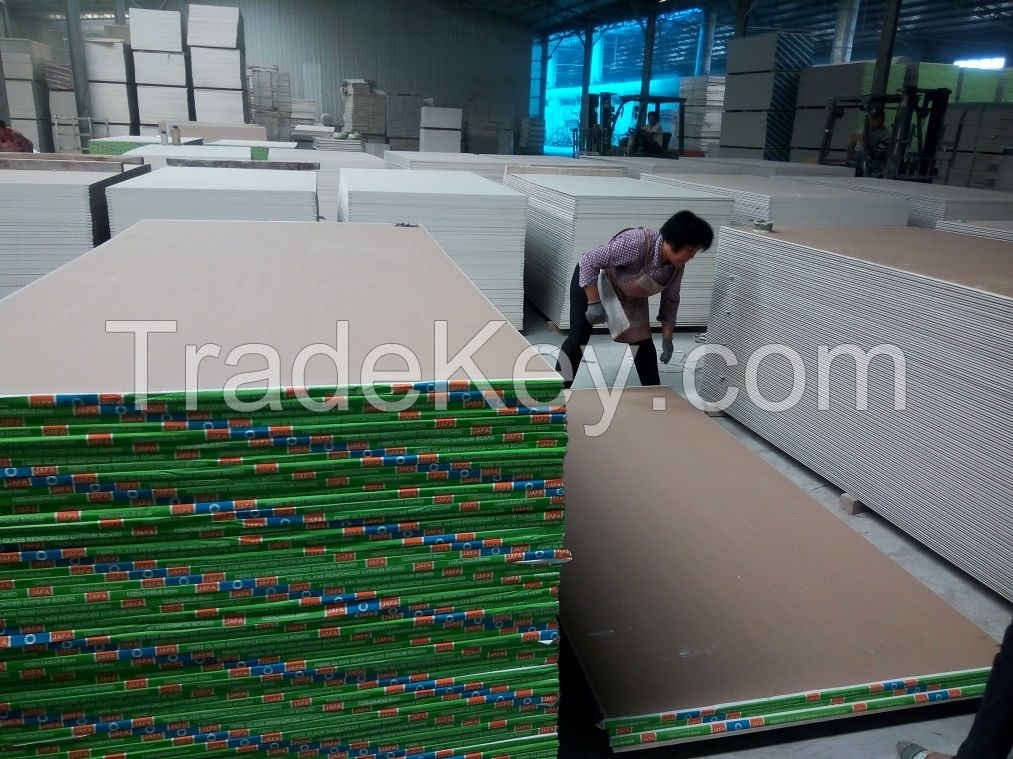Dry wall partition gypsum board