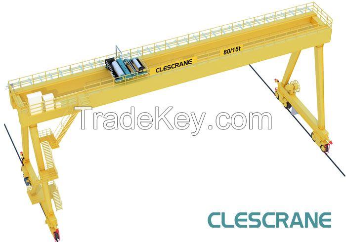 CW(M)G Series Double Girder Gantry Crane