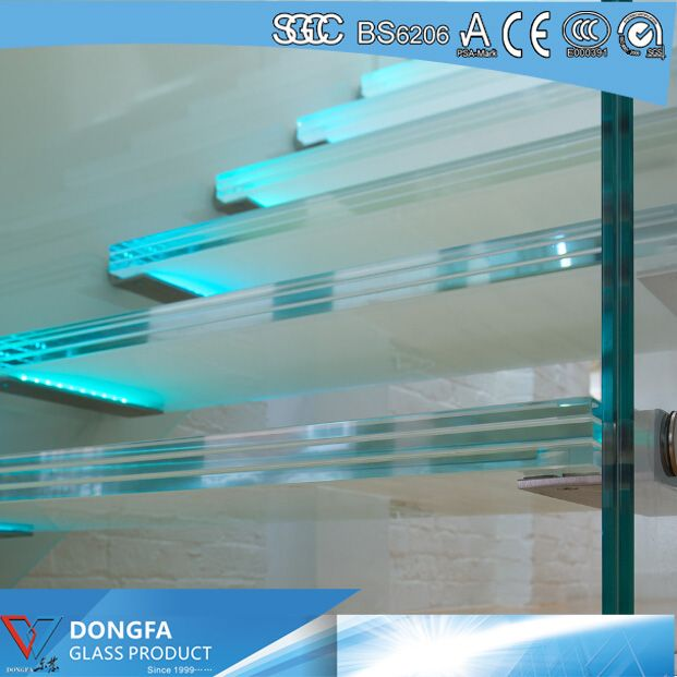 13.52mm Super Clear SGP laminated glass