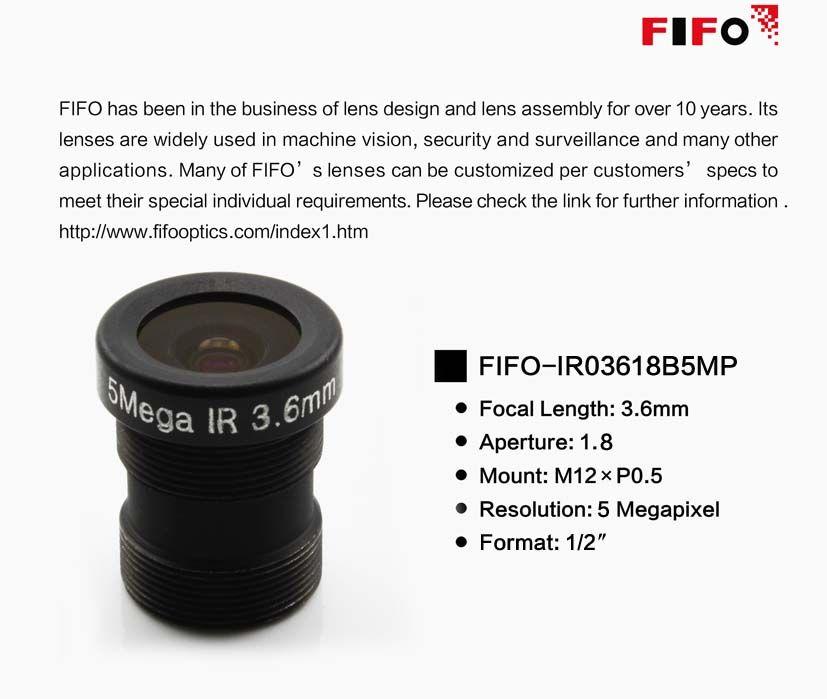 FIFO-IR03618B5MP