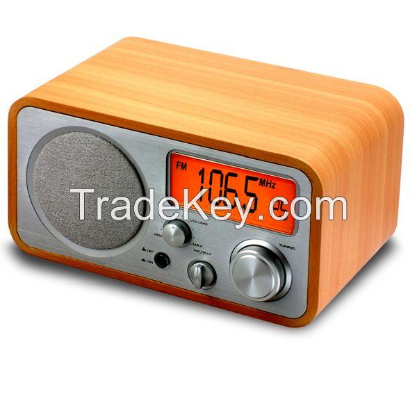 Radio plus Clock 2 in 1