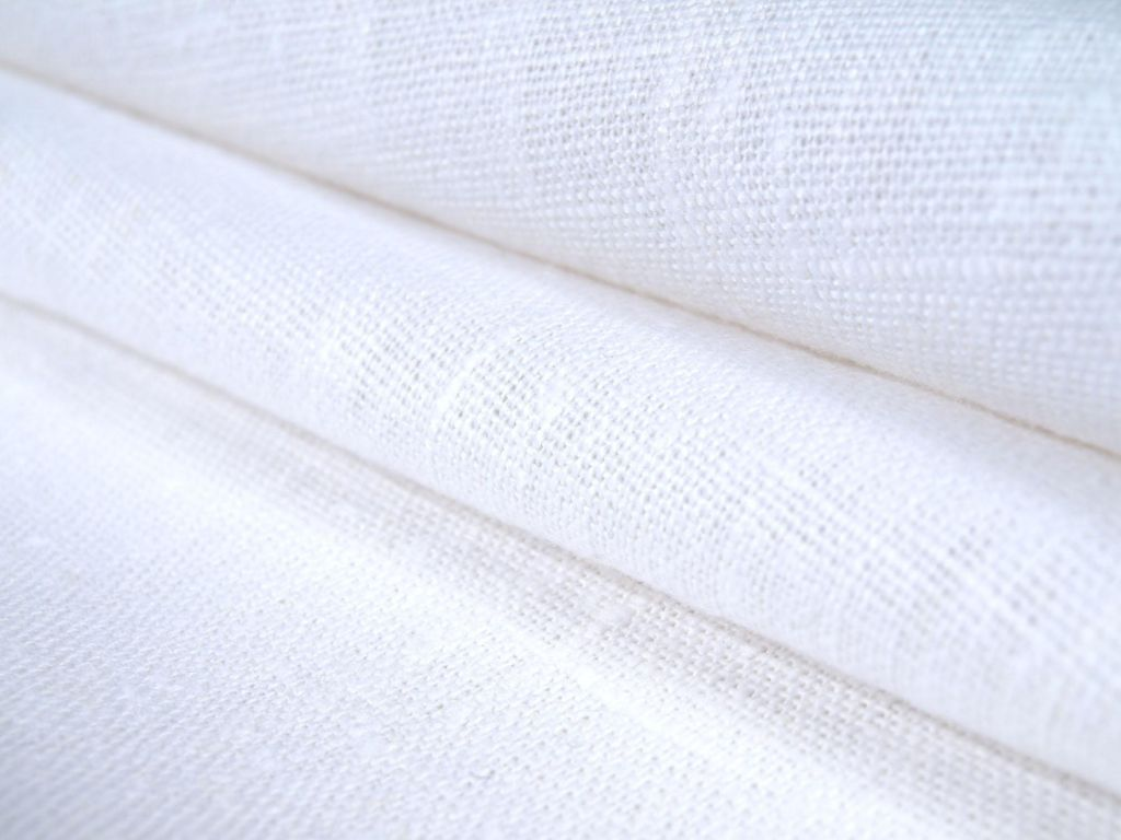 natural and bleached fabrics