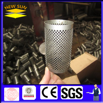 perforated filter pipe