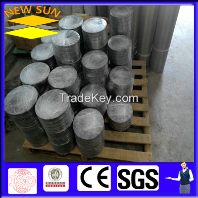 stainless steel woven filter mesh disc