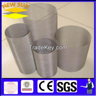 Stainless Steel Wire Mesh Drum/Cylinder Filter