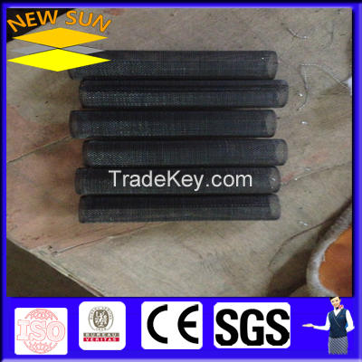 black wire mesh filter pipe (woven)