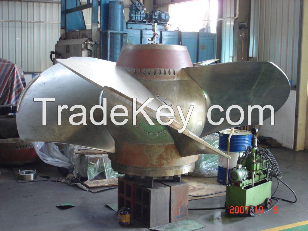Shenyang Getai axial flow hydoro turbine generator